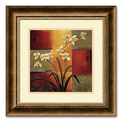 White Orchid Framed Wall Art