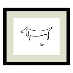'Le Chien (The Dog)' by Pablo Picasso Framed Wall Art