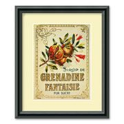 Grenadine Fantaisie Framed Wall Art