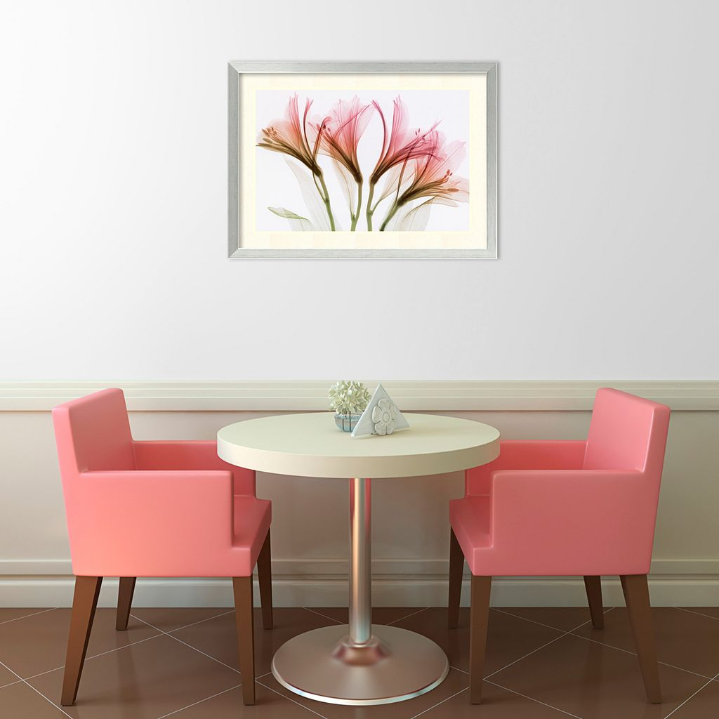 Alstroemeria Framed Wall Art