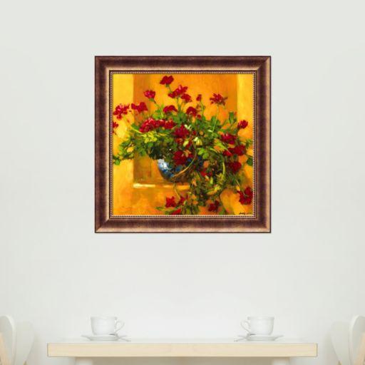 Ivy Geraniums Framed Wall Art