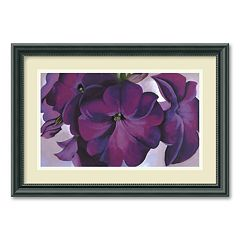 'Petunias, 1925' Framed Wall Art