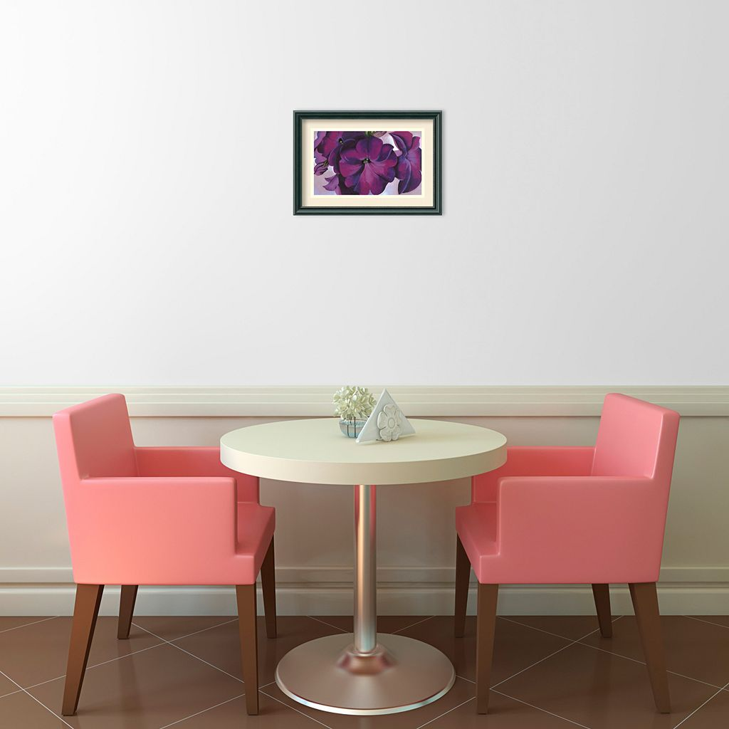 Petunias, 1925 Framed Wall Art