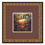 """Morning Light Tuscany"" Framed Wall Art"