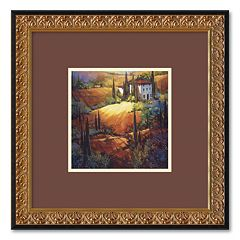 'Morning Light Tuscany' Framed Wall Art