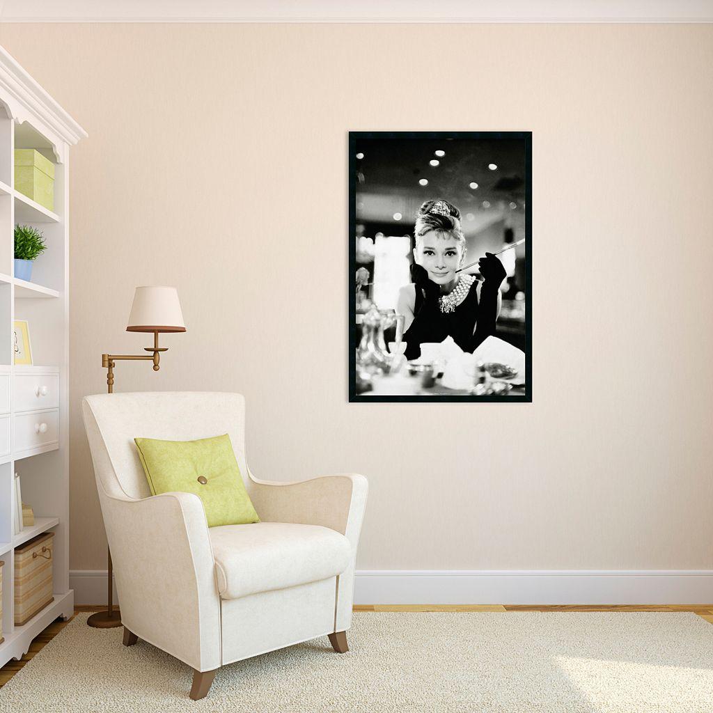 Audrey Hepburn, Breakfast at Tiffany's Framed Wall Art