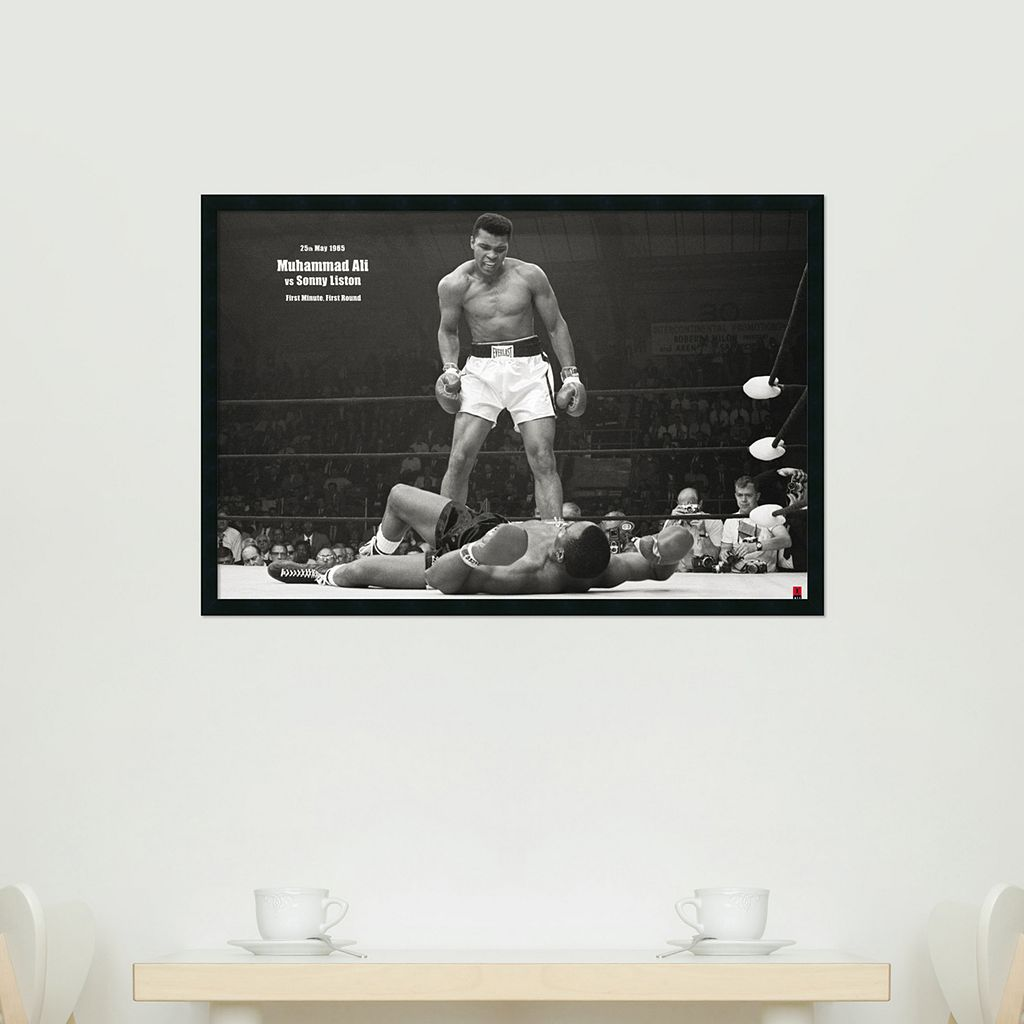 Ali - Liston Framed Wall Art