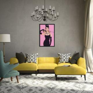Audrey Hepburn Framed Wall Art