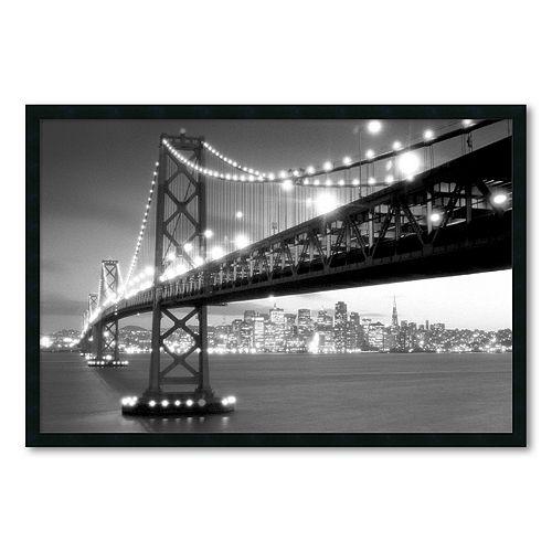 """San Francisco"" Framed Wall Art"