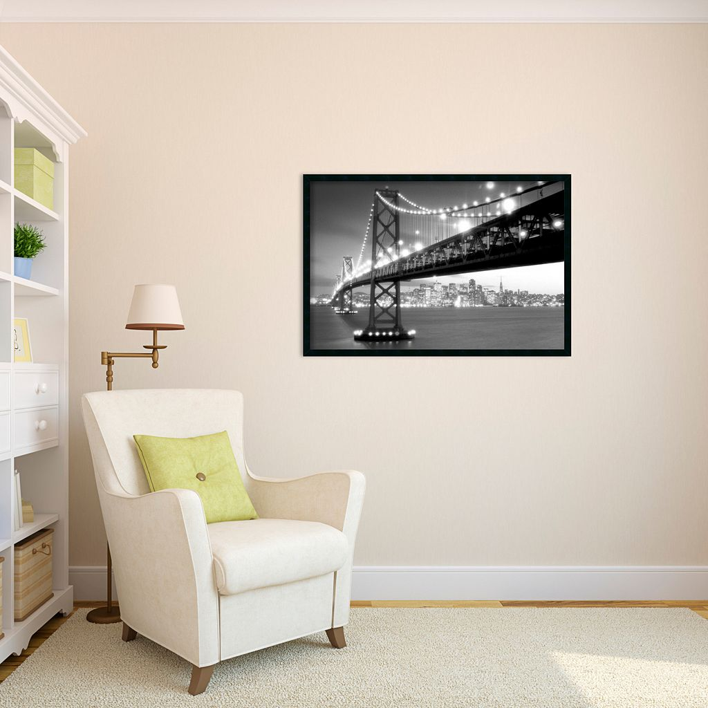 San Francisco Framed Wall Art