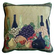 Park B. Smith Wine Tapestry Pillow