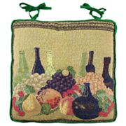 Park B. Smith Wine Tapestry Chair Pad