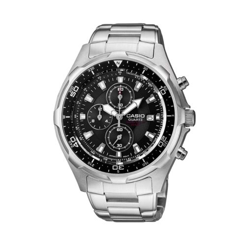 Casio Stainless Steel Chronograph Watch - Men
