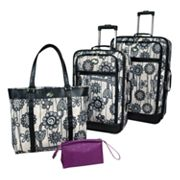 American Tourister Luggage, 3-pc. English Garden Luggage Set