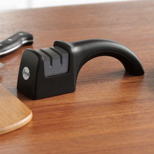Food Network™ 2-Stage Hand-Held Manual Knife Sharpener