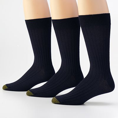 GOLDTOE 3-pk. Windsor Dress Wool Socks