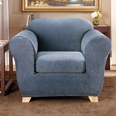 Sure Fit™ Striped Chair Slipcover