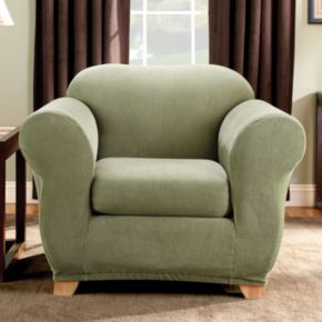 Sure Fit Striped Chair Slipcover