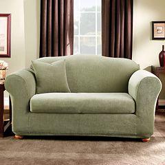 Sure Fit™ Striped Sofa Slipcover