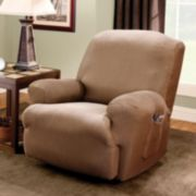 Sure Fit™ Striped Recliner Slipcover