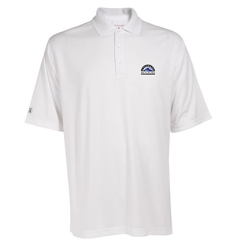 Men's Colorado Rockies Exceed Performance Polo