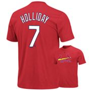 Majestic St. Louis Cardinals Matt Holliday Tee