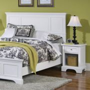 Naples Queen Headboard & Nightstand