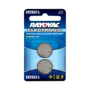Rayovac® CR2032 Button-Cell Lithium Battery