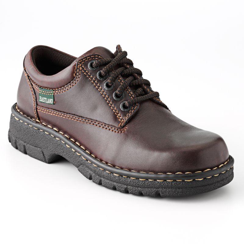 Eastland Plainview Women's Oxford Shoes, Size: 8 Wide, Brown