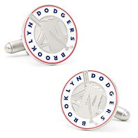 Brooklyn Dodgers Cuff Links