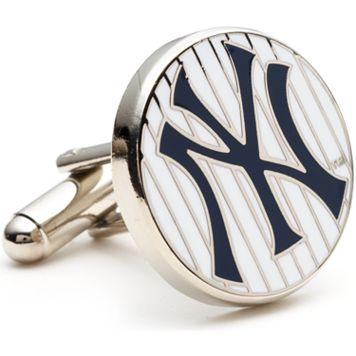 New York Yankees Pin-Striped Cuff Links