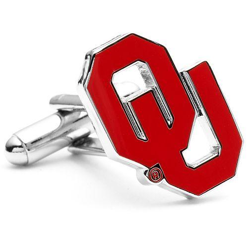 Oklahoma Sooners Logo Cuff Links