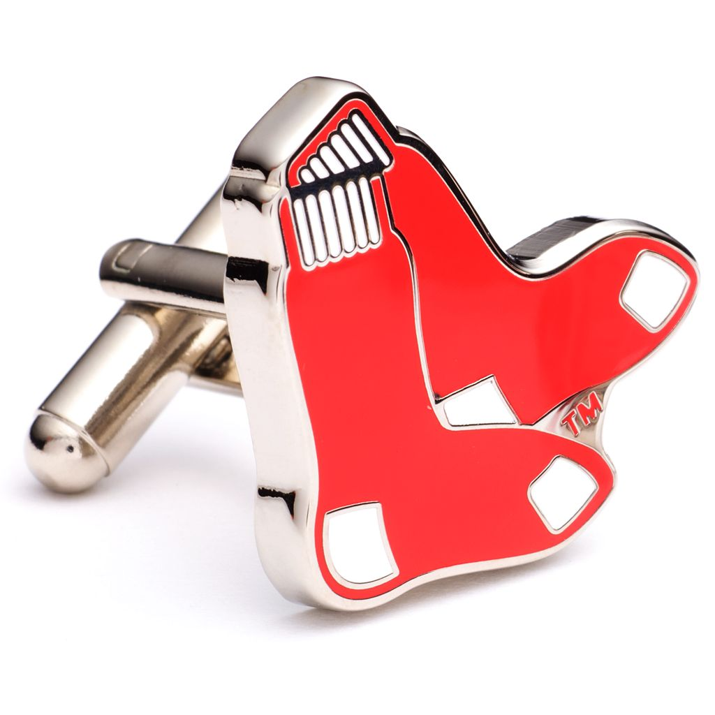 Boston Red Sox Cuff Links