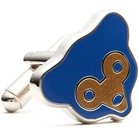 Retro Chicago Cubs Cuff Links