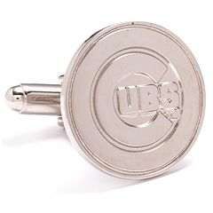 Silver Edition Chicago Cubs Cuff Links