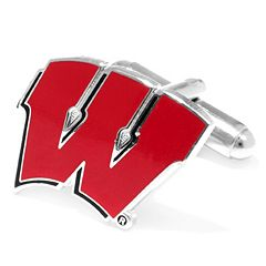 Wisconsin Badgers Cuff Links