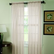 Home Classics Crushed Voile Window Panel - 51'' x 63''
