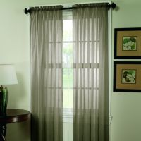 Home Classics® Crushed Voile Window Panel - 51'' x 84''
