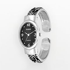 Studio Time Women's Scroll Bangle Watch