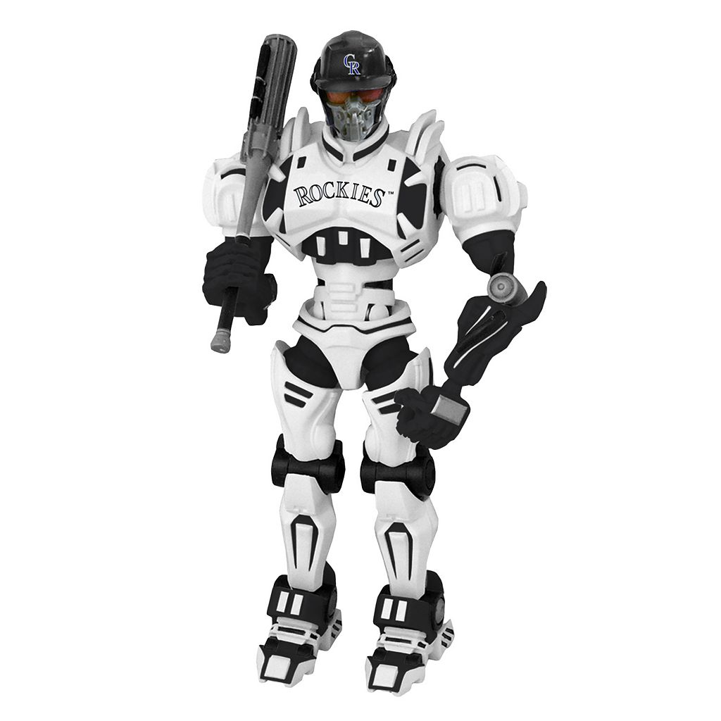 Colorado Rockies MLB Robot Action Figure