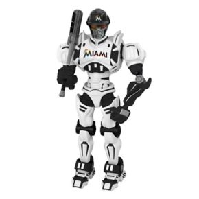 Miami Marlins MLB Robot Action Figure