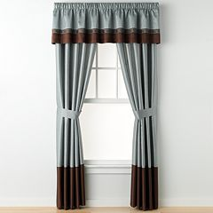 Lush Decor 1-Panel Kyoto Drape