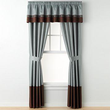 Lush Decor® Kyoto Window Valance