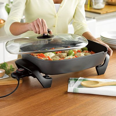 Food Network 16-in. Electric Skillet