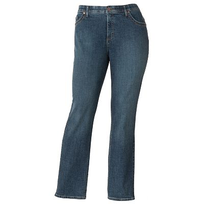Lee Comfort Waist Straight-Leg Jeans - Women's Plus