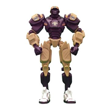 New Orleans Saints Cleatus the FOX Sports Robot Action Figure