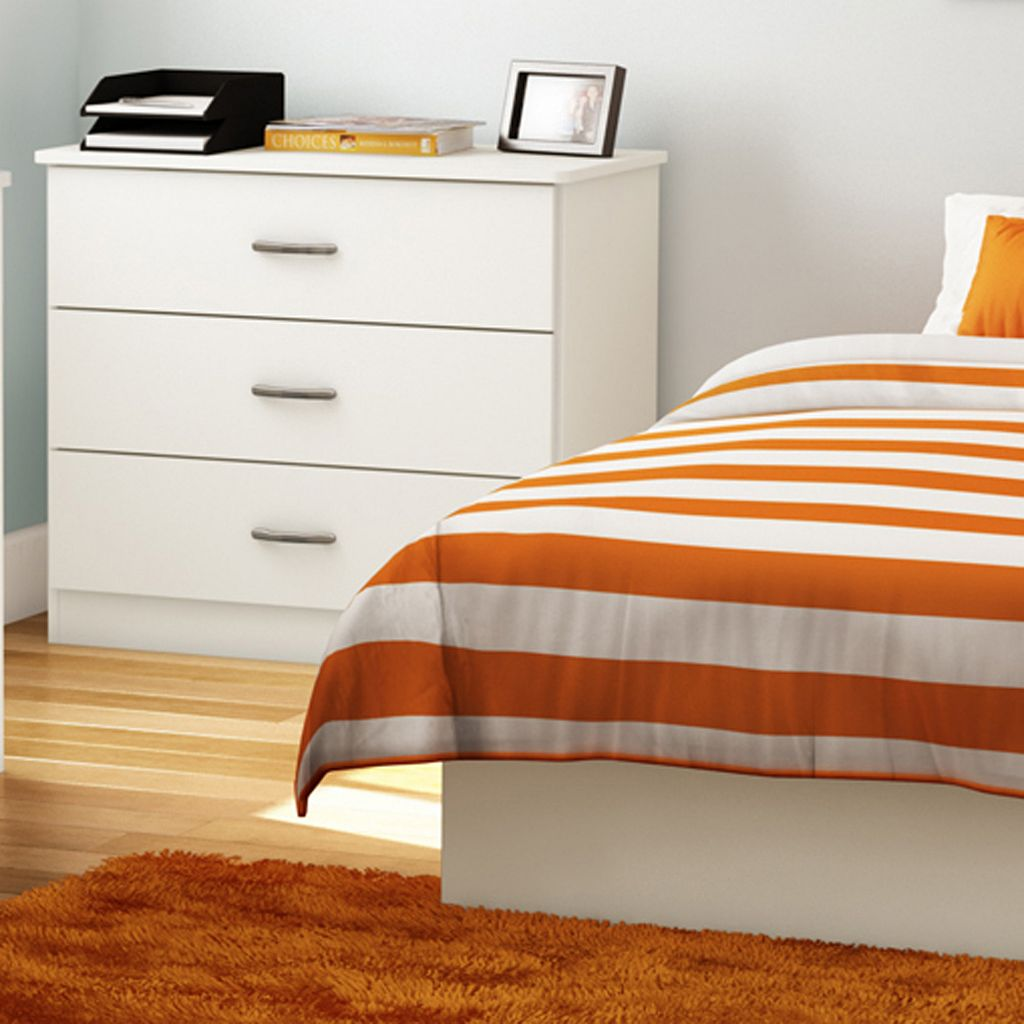South Shore Contemporary 3-Drawer Chest