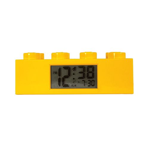 LEGO Yellow Brick Alarm Clock