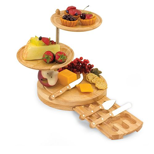 Picnic Time® Regalio 3-Tier Cheese Tray