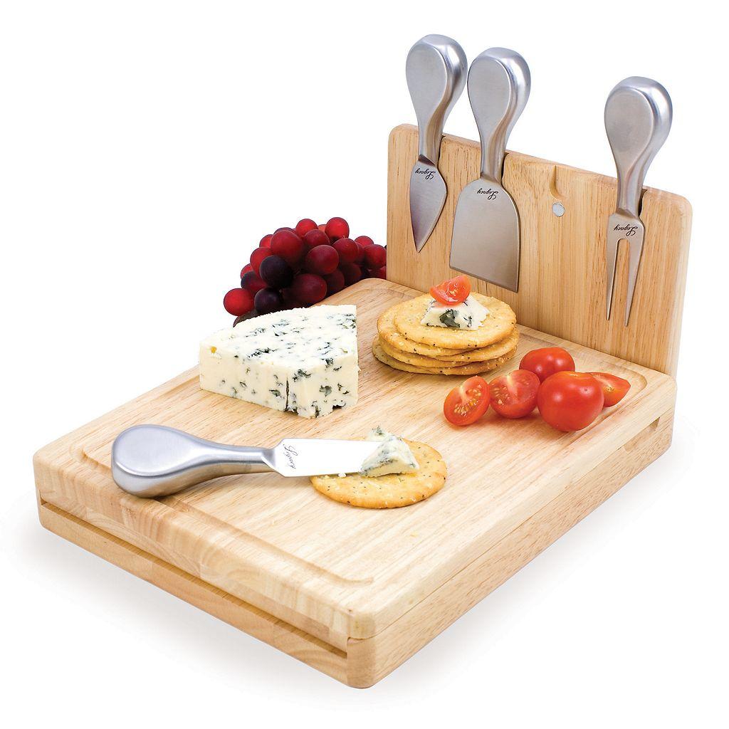 Picnic Time® Asiago 5-pc. Cheeseboard Set
